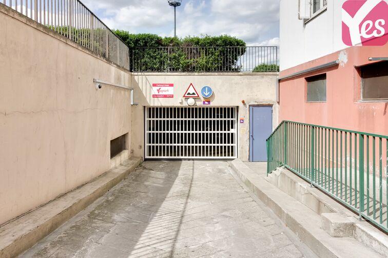 Parking Stade de Colombes sécurisé