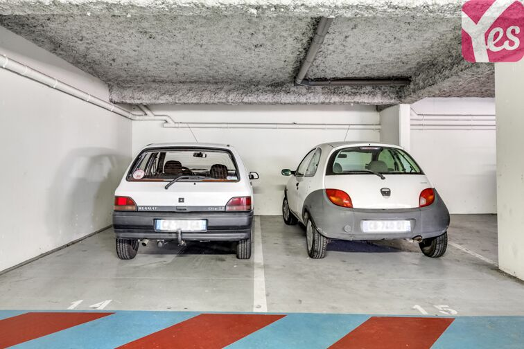 Parking Nansouty - Bordeaux box