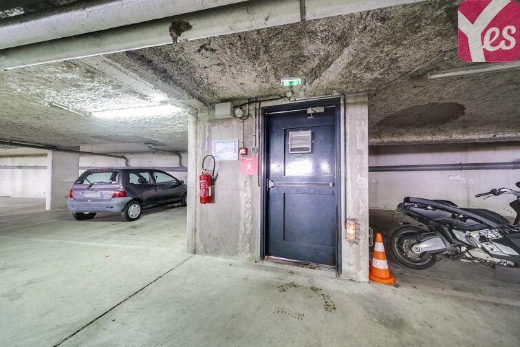 Parking Mairie d'Evry sécurisé