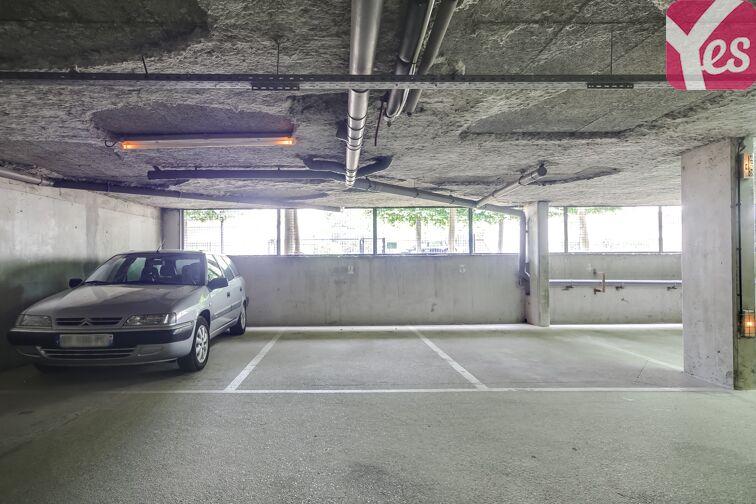 Parking Mairie d'Evry souterrain