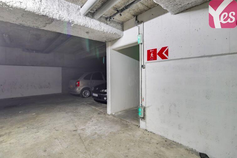 Parking Parc Montsouris - Nord - Paris 14 gardien