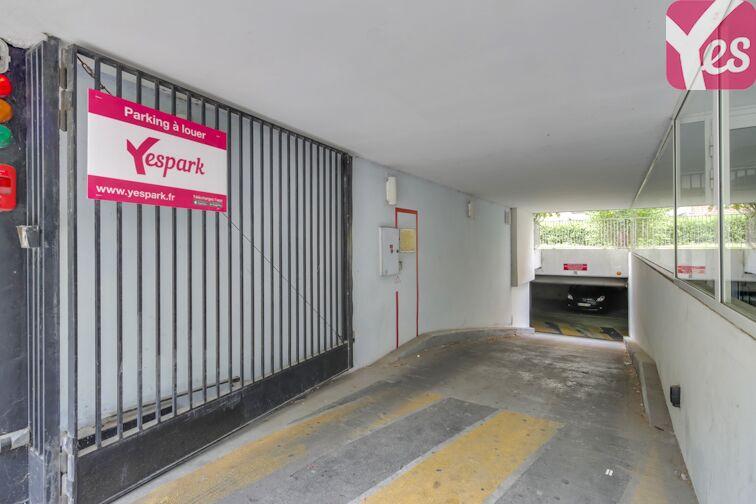 Parking Parc Montsouris - Nord - Paris 14 sécurisé