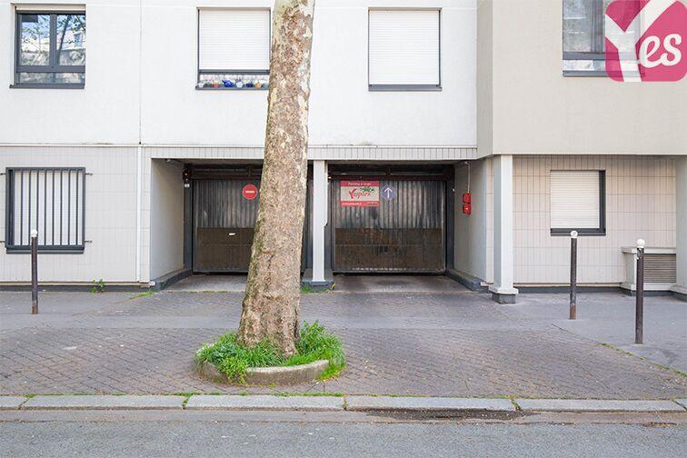 Parking André Citroën - Bibliothèque Gutenberg - Paris 15 location mensuelle