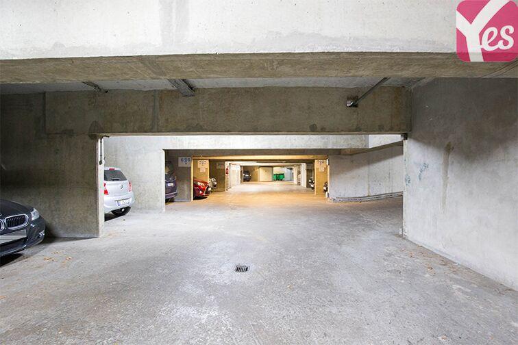 Parking André Citroën - Bibliothèque Gutenberg - Paris 15 Paris