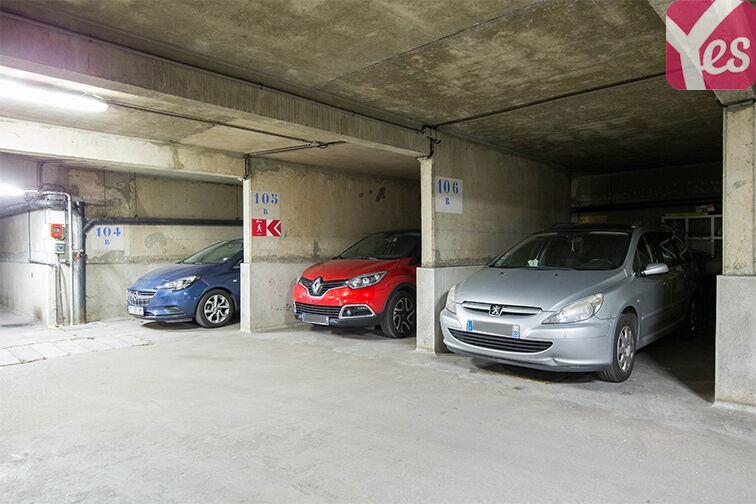 Parking André Citroën - Bibliothèque Gutenberg - Paris 15 garage
