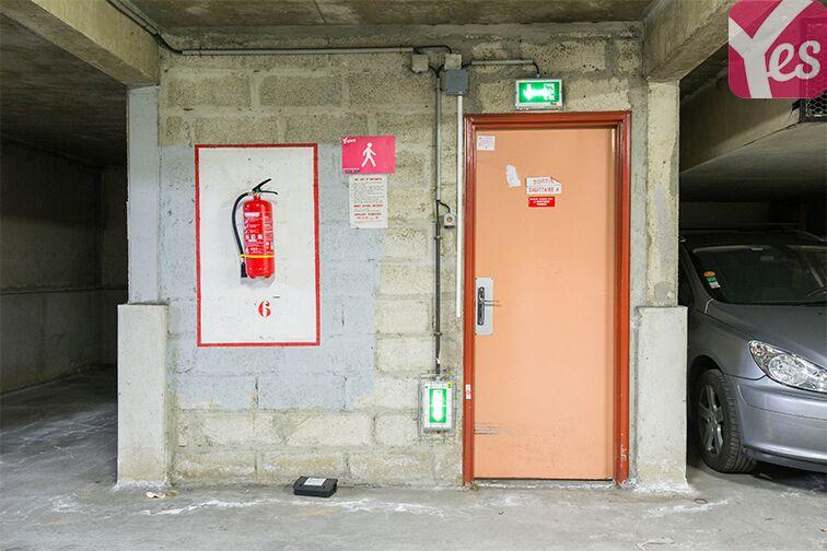 Parking André Citroën - Bibliothèque Gutenberg - Paris 15 sécurisé