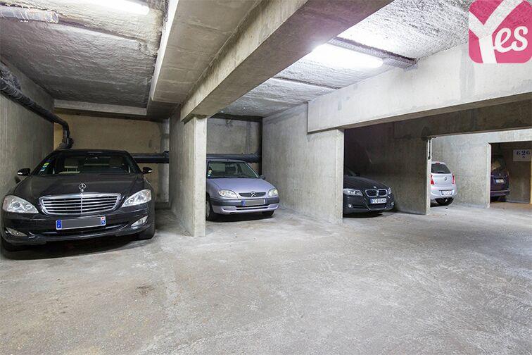 Parking André Citroën - Bibliothèque Gutenberg - Paris 15 souterrain