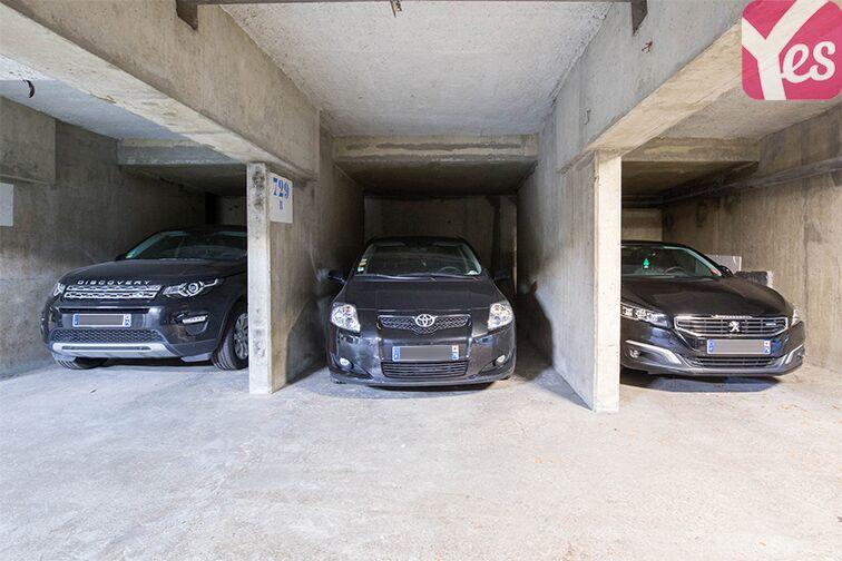 Parking André Citroën - Bibliothèque Gutenberg - Paris 15 caméra