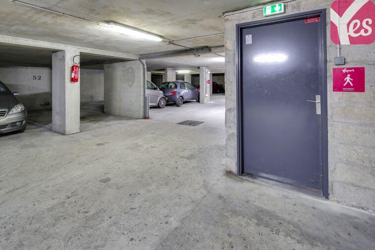 Parking Cimetière du Montparnasse - Paris 14 caméra