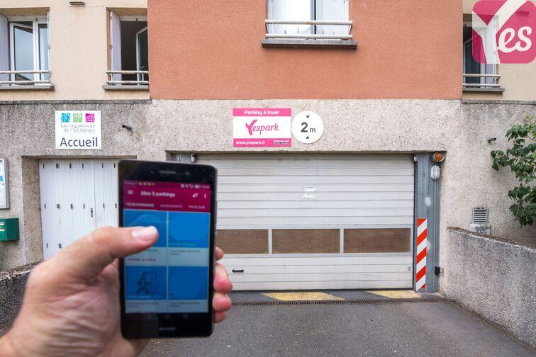 Parking Quai du Roi - Orléans location