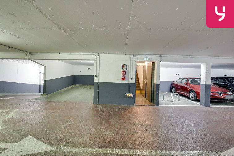 Parking Nationale - Paris 13 souterrain