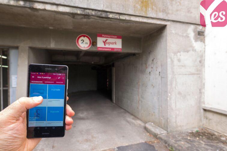location parking La Source - Orléans