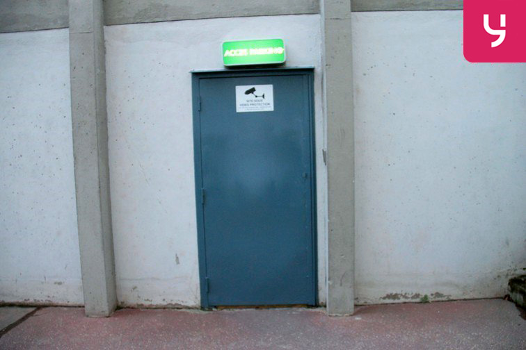 Parking Alexandre Dumas - Réunion sécurisé