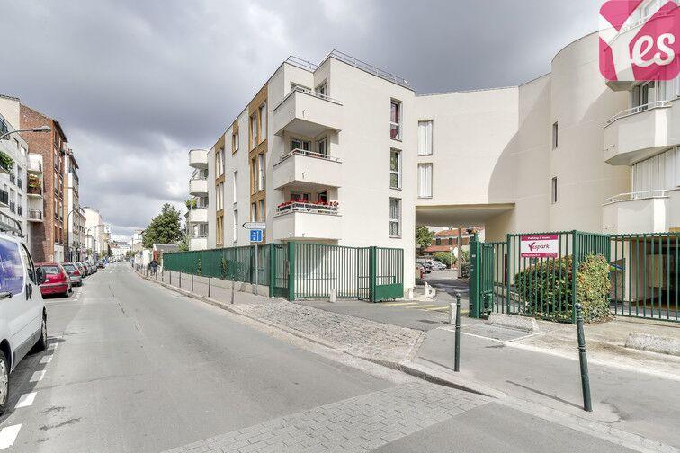 Parking Gresillons - Voltaire - Asnières-sur-Seine location mensuelle