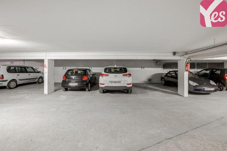 Parking Versailles - Champ Lagarde caméra