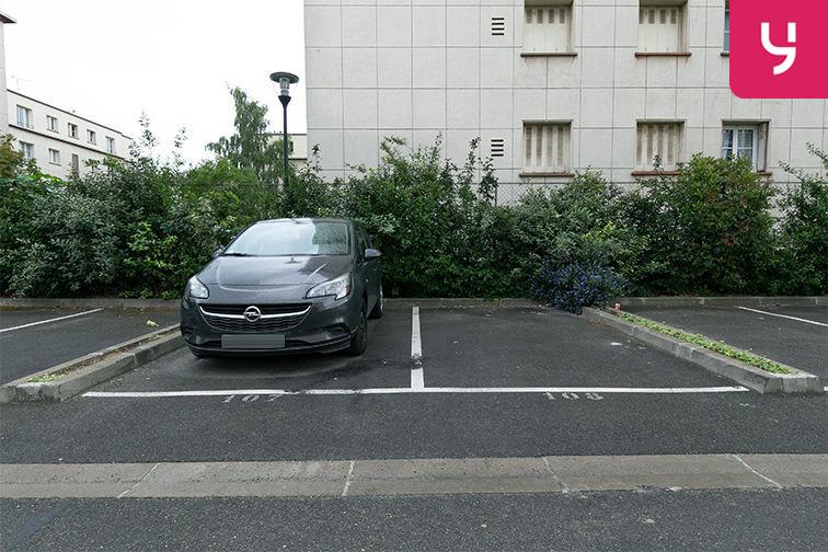 Parking Aéroport du Bourget - Blanc-Mesnil (aérien) box