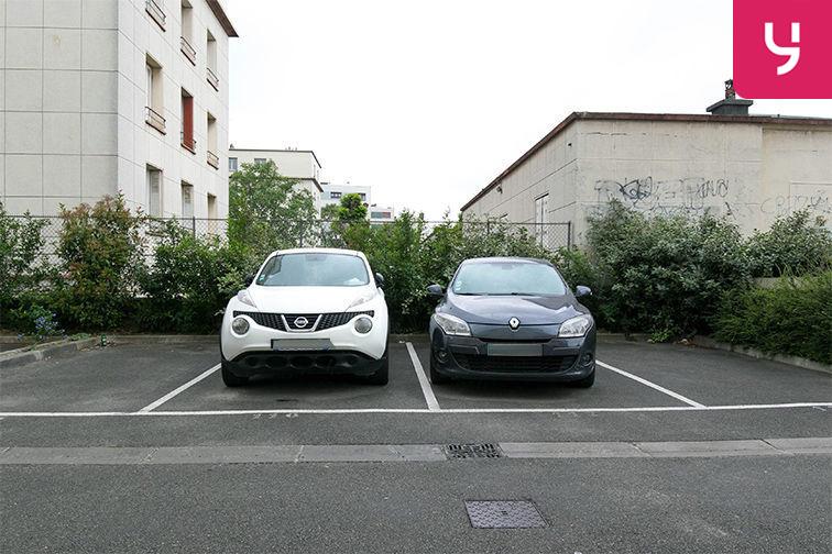 Parking Aéroport du Bourget - Blanc-Mesnil (aérien) caméra