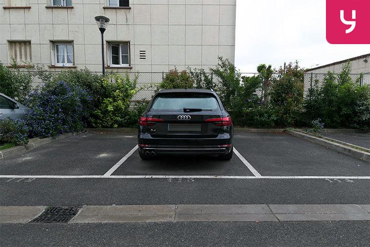 Parking Aéroport du Bourget - Blanc-Mesnil (aérien) 93150
