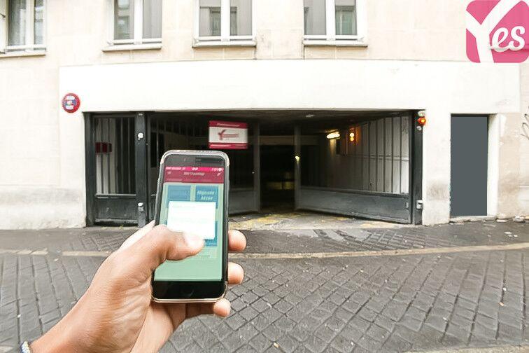 Parking Métro La Chapelle sécurisé