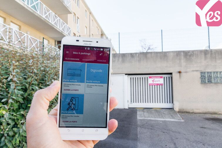 Location parking Vitrolles - Avenue Rhin Danube