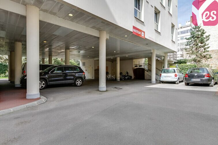 Parking Mairie du 14ème - Paris (aérien) sécurisé