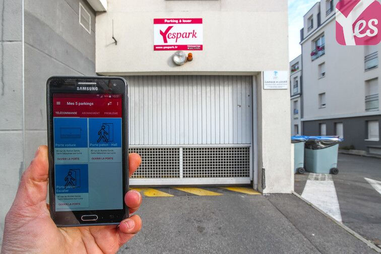 location parking Ouest - Saint-Sébastien-sur-Loire