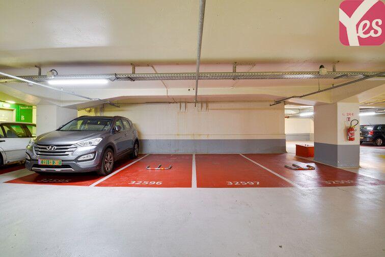 Parking Emeriau - Zola - Paris 15 caméra