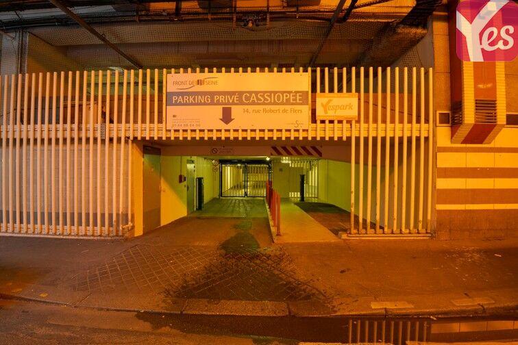 Parking Emeriau - Zola - Paris 15 sécurisé