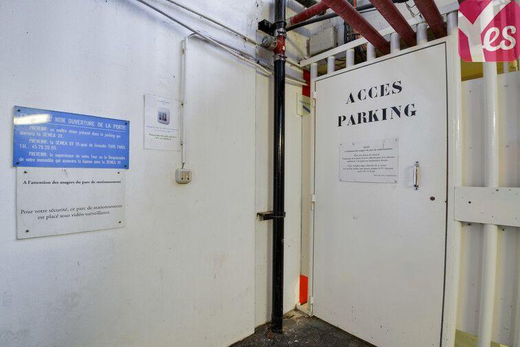 Parking Emeriau - Zola - Quai de Grenelle - Paris 15 sécurisé