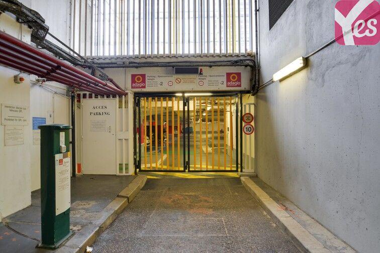 Parking Emeriau - Zola - Quai de Grenelle - Paris 15 souterrain