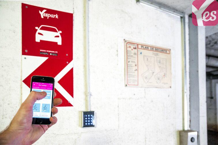 Parking Sans Souci - Dauphiné - Lyon 3 garage