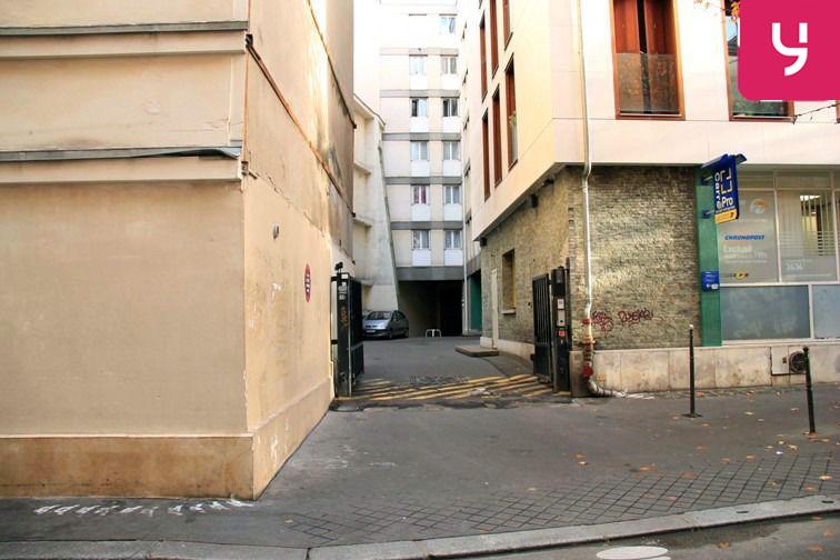 Parking Hôtel de Ville gardien