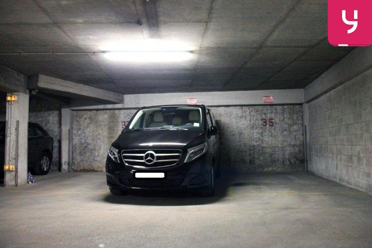Parking Hôtel de Ville 24/24 7/7