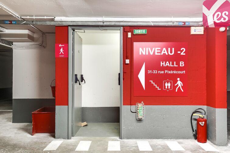 Parking Télégraphe - rue Pixérécourt 24/24 7/7