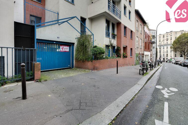 Parking Télégraphe - rue Pixérécourt à louer
