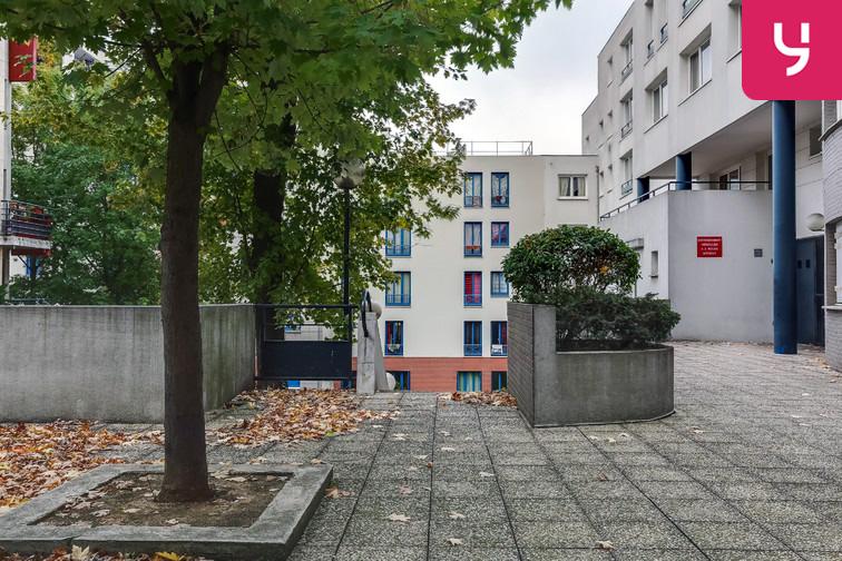 Parking Ménilmontant - Rue Pixérécourt - Paris 20 caméra