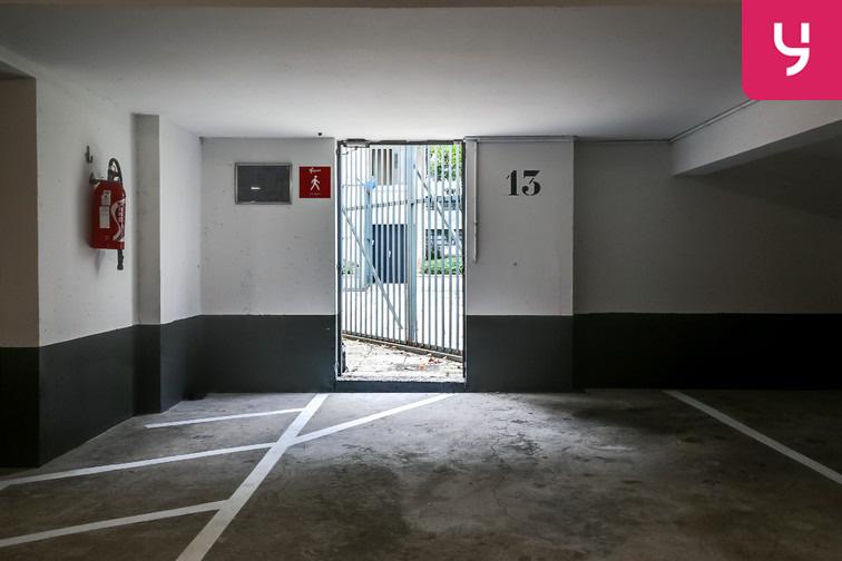 Parking Ménilmontant - Rue Pixérécourt - Paris 20 sécurisé