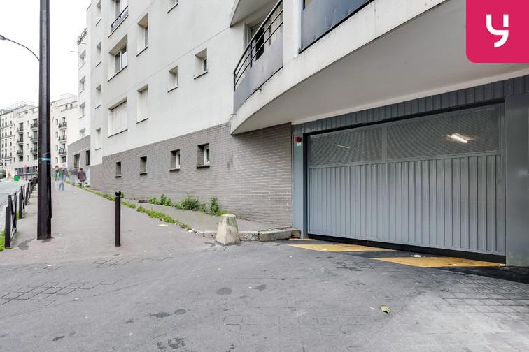 Parking Ménilmontant - Rue Pixérécourt - Paris 20 garage
