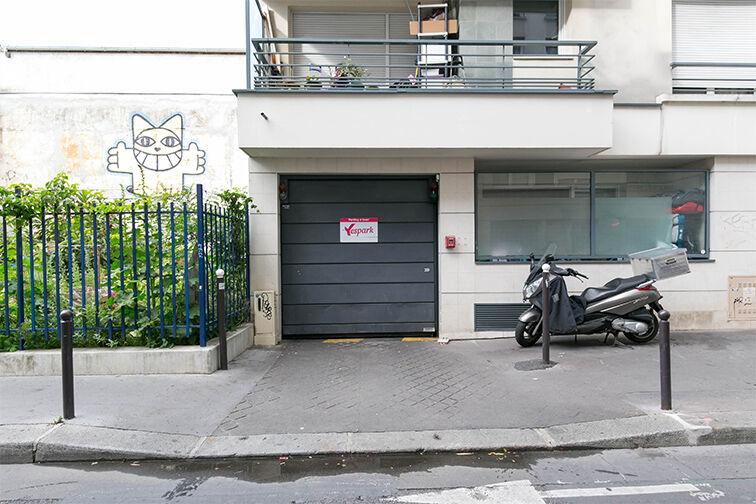 Parking Belleville - Saint-Louis - Paris 10 75010