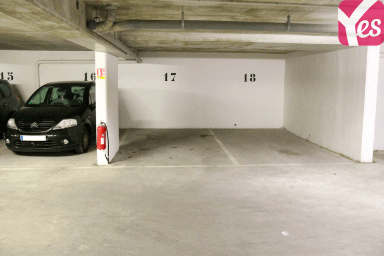 Parking Belleville - Saint-Louis souterrain