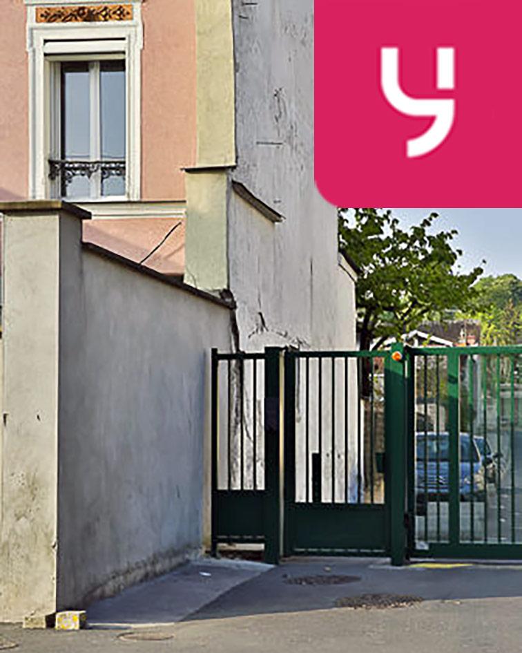 Parking Jean Jaurès - Henri Barbusse (aérien) Gagny