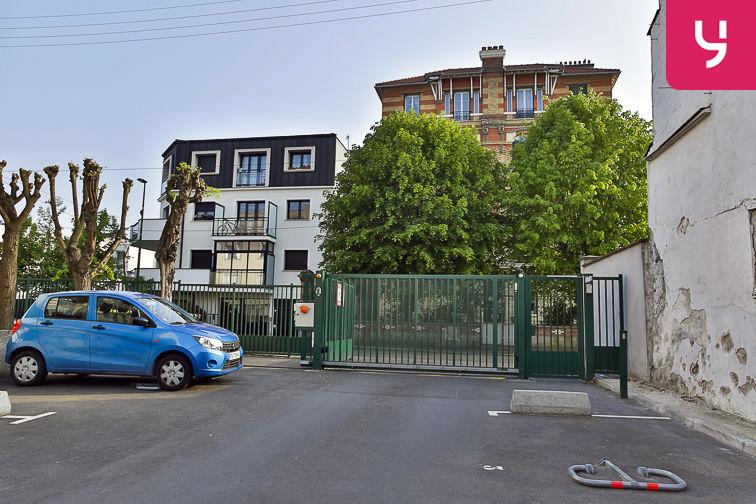 Parking Jean Jaurès - Henri Barbusse (aérien) souterrain