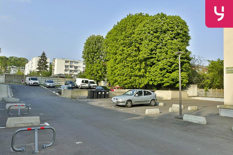 Parking Jean Jaurès - Henri Barbusse (aérien) gardien