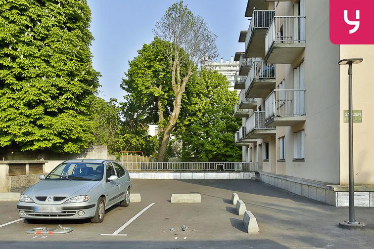Parking Jean Jaurès - Henri Barbusse (aérien) caméra
