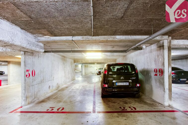 Parking Maladerie - Emile Dubois sécurisé