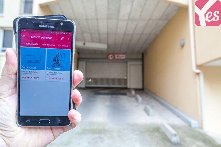 Parking Longjumeau - Gare - Marché - Zone industrielle garage