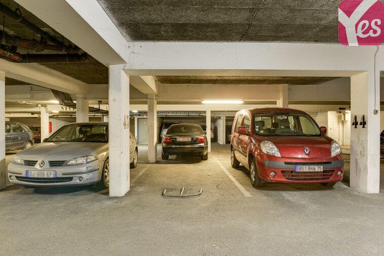 Parking Réunion - Père Lachaise - Paris 20 caméra