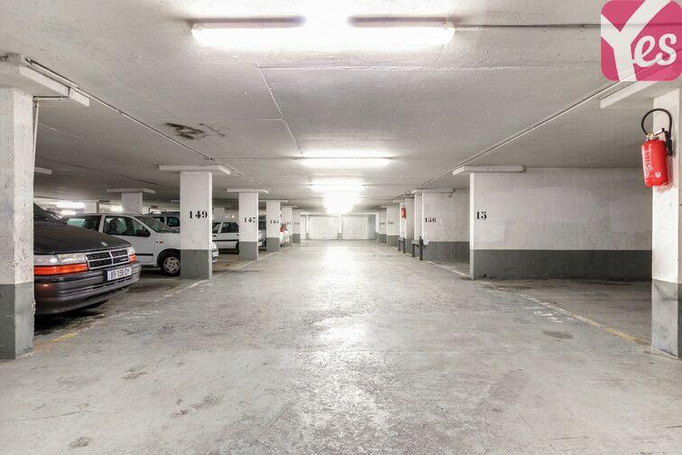 Parking Secrétan - Jaurès - Paris 19 souterrain