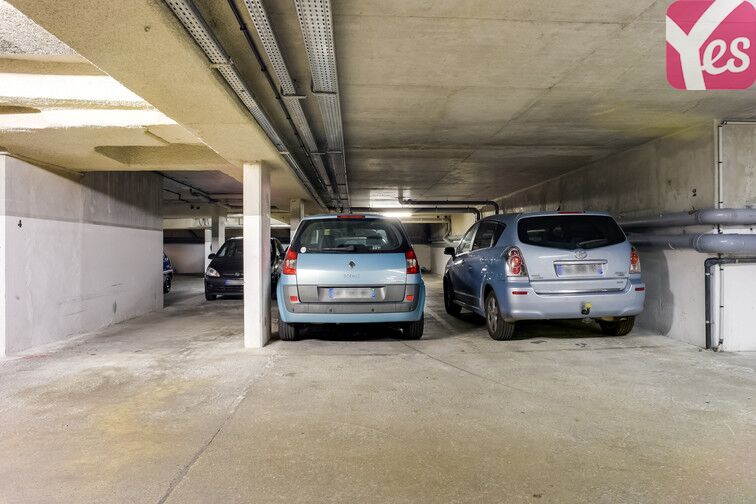 Parking Goncourt - Canal Saint-Martin - Paris 10 caméra