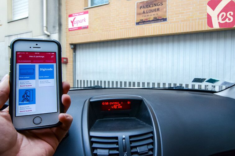 location parking Centre-ville - Houilles